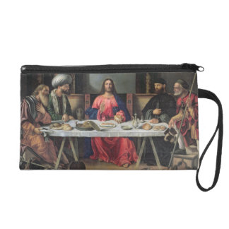 The Supper at Emmaus (oil on panel) Wristlet