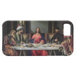 The Supper at Emmaus (oil on panel) iPhone 5 Cover