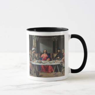 The Supper at Emmaus (oil on panel) Mug