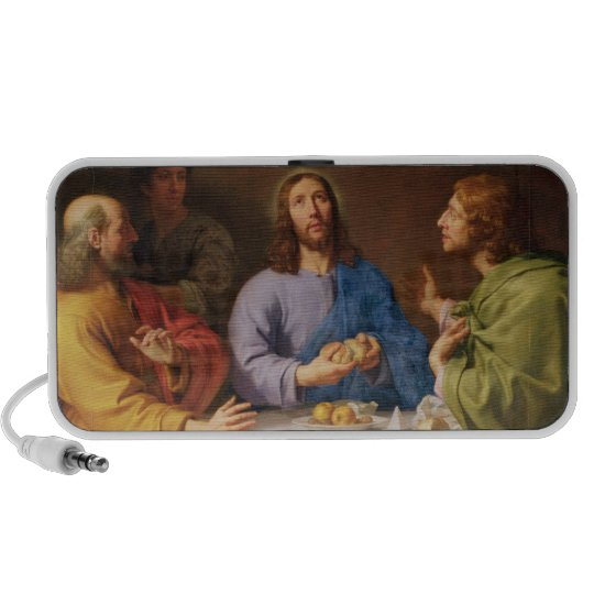 The Supper at Emmaus Portable Speaker