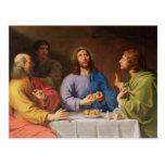 The Supper at Emmaus Postcard