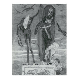 The Supreme Vice by Felicien Rops Postcard