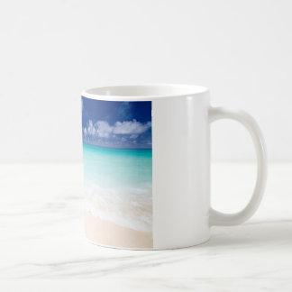 The Surf in tropical beach and Okinawa Japan Coffee Mugs