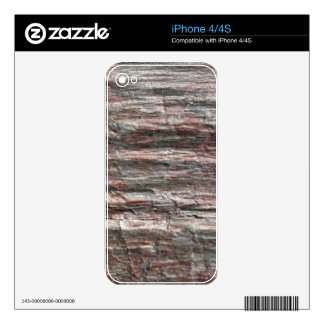 The surface of Phyllite schists of Proterozoic age Decal For iPhone 4