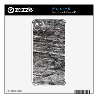 The surface of Phyllite schists of Proterozoic age Decals For The iPhone 4S