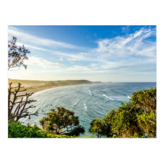 The surface of the sea, Surf beach Postcard