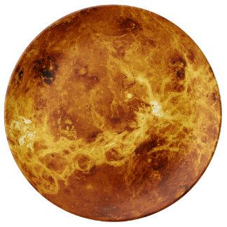 The Surface of Venus Porcelain Plates