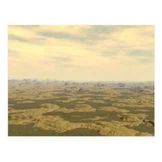 The Surface of Venus Postcard