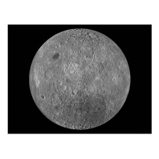 The Surface on the Far Side of Earth's Moon Postcard