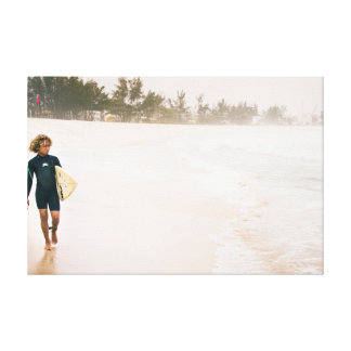 The Surfer Kid Canvas Print