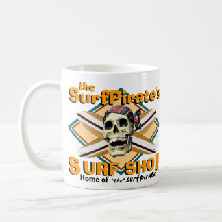 the SurfPirate's Surf Shop Mug