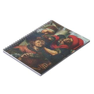 The Surgeon  by Jan van Hemessen Notebook