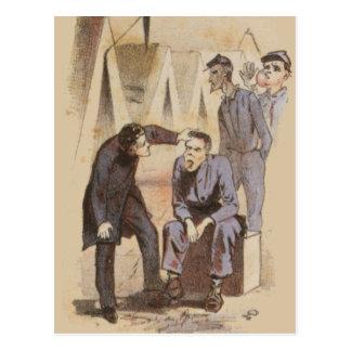 The Surgeon Civil War Life Postcard