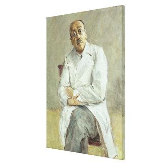 The Surgeon, Ferdinand Sauerbruch, 1932 Canvas Print