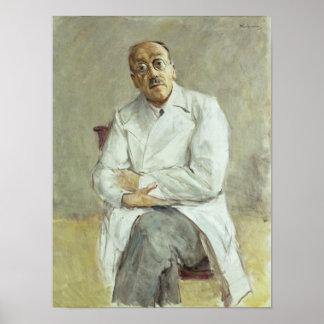 The Surgeon, Ferdinand Sauerbruch, 1932 Poster