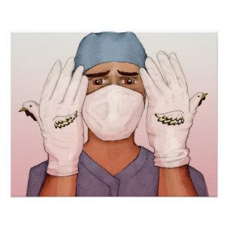 The Surgeon -print Photo Print