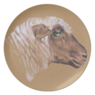 The Surly Sheep Dinner Plate