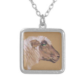 The Surly Sheep Silver Plated Necklace