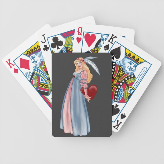 the surprise of being loved bicycle playing cards