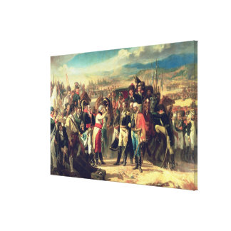The Surrender of Bailen, 23rd July 1808 Canvas Print