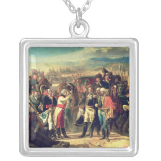 The Surrender of Bailen, 23rd July 1808 Silver Plated Necklace