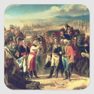 The Surrender of Bailen, 23rd July 1808 Square Sticker