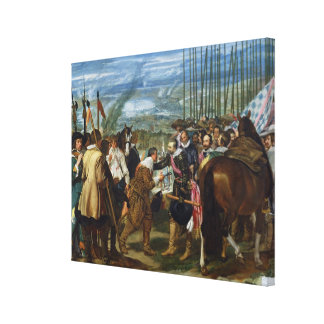 The Surrender of Breda, 1625, c.1635 Canvas Print