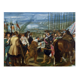 The Surrender of Breda, 1625, c.1635 Postcard