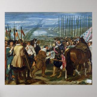 The Surrender of Breda, 1625, c.1635 Poster