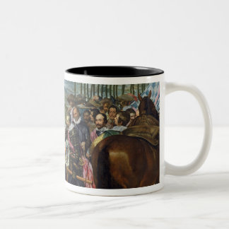 The Surrender of Breda, 1625, c.1635 Two-Tone Coffee Mug