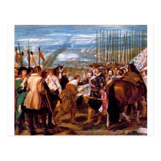 The Surrender of Breda by Diego Velazquez Postcard