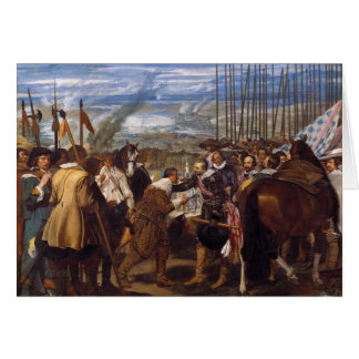 The Surrender of Breda or The Lances by Velázquez Card