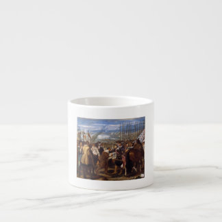 The Surrender of Breda or The Lances by Velázquez Espresso Cup