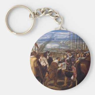 The Surrender of Breda or The Lances by Velázquez Keychain