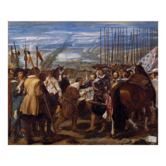 The Surrender of Breda or The Lances by Velázquez Poster