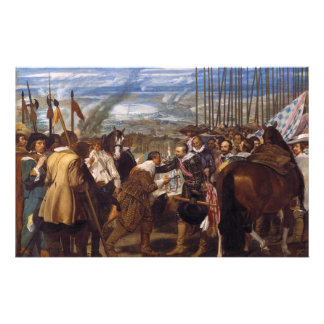 The Surrender of Breda or The Lances by Velázquez Stationery Paper