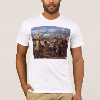 The Surrender of Breda or The Lances by Velázquez T-Shirt