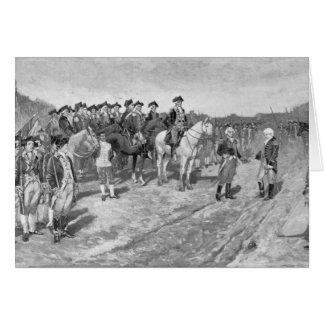 The Surrender of Cornwallis at Yorktown Card