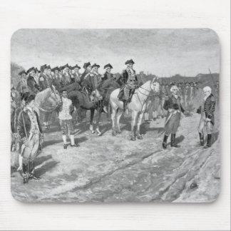 The Surrender of Cornwallis at Yorktown Mouse Pad
