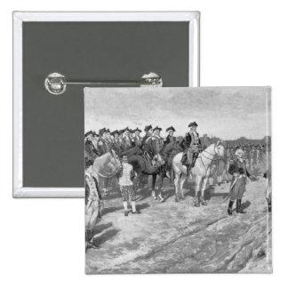 The Surrender of Cornwallis at Yorktown Pinback Button