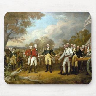 The Surrender of General Burgoyne Mouse Pad