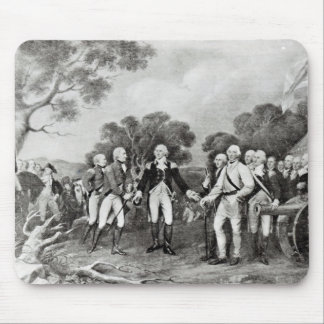 The Surrender of General Burgoyne Saratoga Mouse Pad