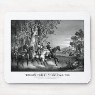 The Surrender Of General Lee Mouse Pads