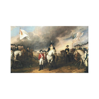 The Surrender of Lord Cornwallis Canvas Print