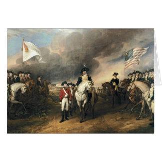 The Surrender of Lord Cornwallis Card