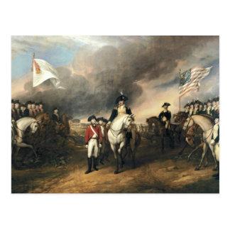 The Surrender of Lord Cornwallis Postcard