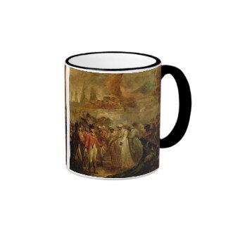 The Surrender of the Two Sons of Tipu Sahib (1749- Ringer Mug