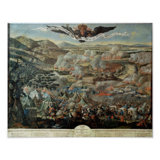 The Surrounding of Vienna by the Turks in 1683 Poster