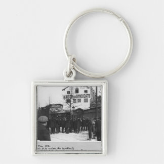 The surroundings of the Maison des Syndicats, Keychain