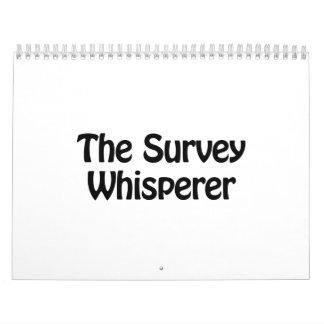the survey whisperer calendar